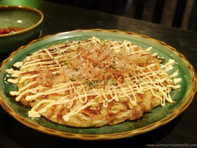 Okonomiyaki, pizza japonesa.