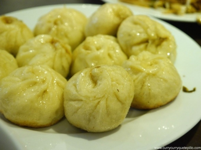 Deliciosos 'xiao long bao' rellenos de carne