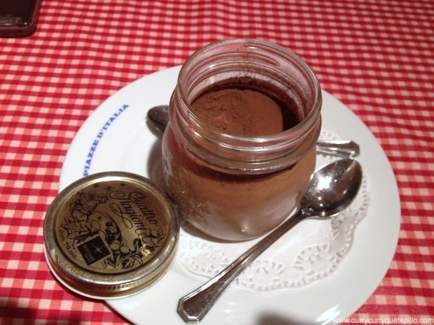 Tiramisú de Nutella