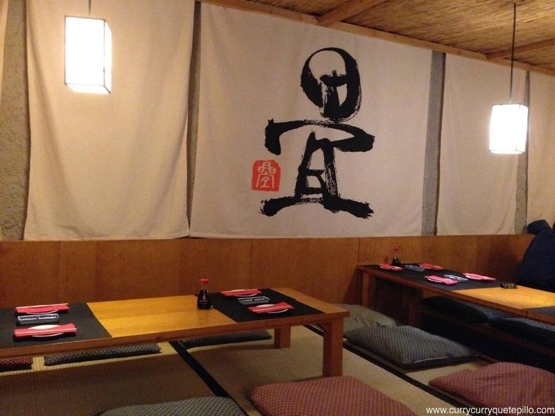 The tatami room barcelona currycurryquetepillo for Pisos asiaticas barcelona