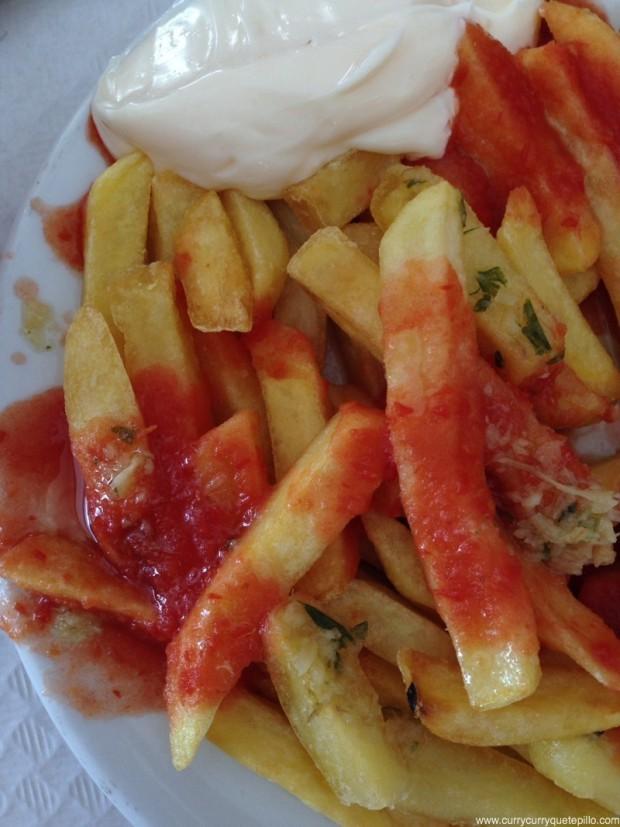 Patatas fritas Domenech.