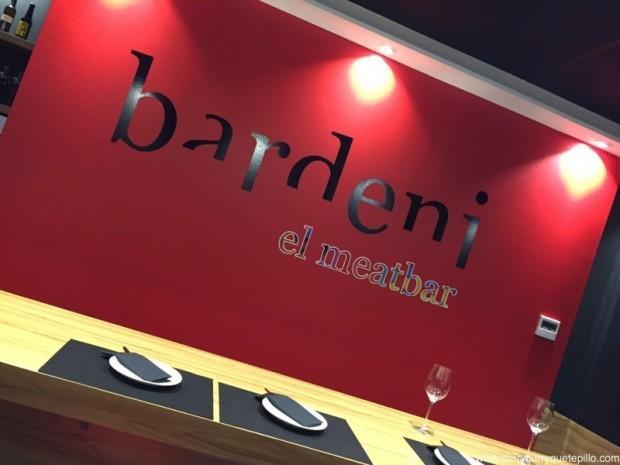 El meatbar Bardeni.