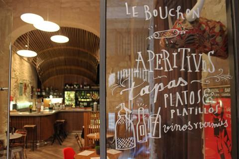 Interior de Le Bouchon Barcelona