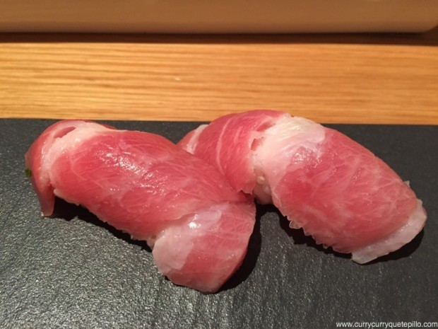 Nigiris de toro. Can Kenji.