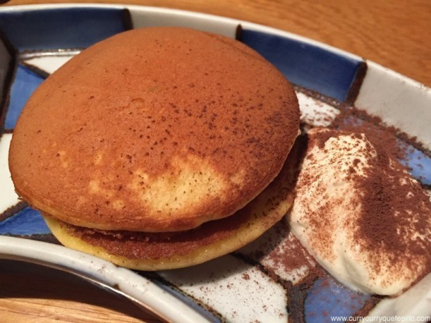 Dorayaki de chocolate. Can Kenji.