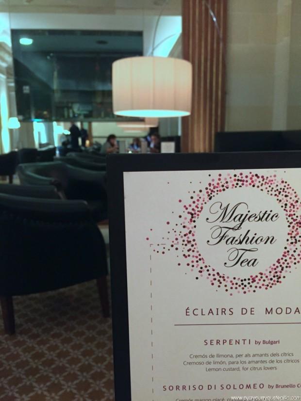 En el salón principal del Majestic Hotel.