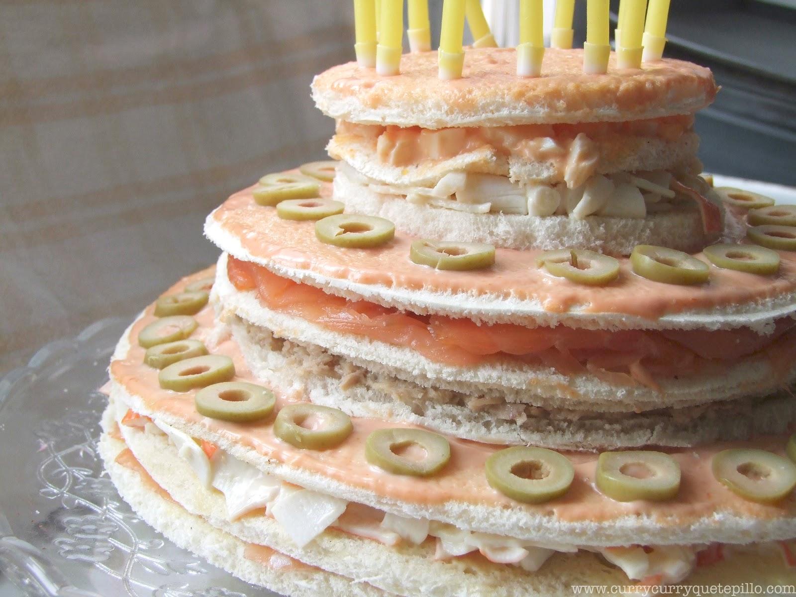 Las capas del pastel