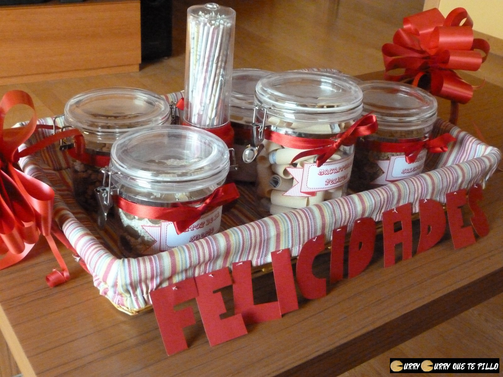 Un regalo de bodas especial y culinario currycurryquetepillo - Manualidades regalo boda ...